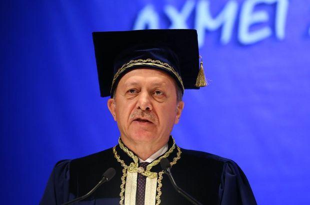 Cumhurbaşkanı Erdoğan'ın üniversite diploması var mı?