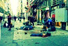istiklal caddesi canlı bomba terör saldırısı taksim