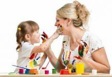 resim resimleriyle çocuklar ve renkli dünyaları