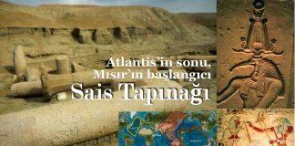 Atlantis Mısır Sais Tapınağı isis