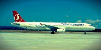 THY'nin Brüksel - İstanbul seferini yapan TK 1942 sefer sayılı uçağı, patlama olduğu sırada Brüksel Havalimanı apronundaydı. Uçak kalkamadı.