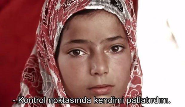 TRT de Suriyeli çocuk: Kontrol noktasında kendimi patlatırdım!