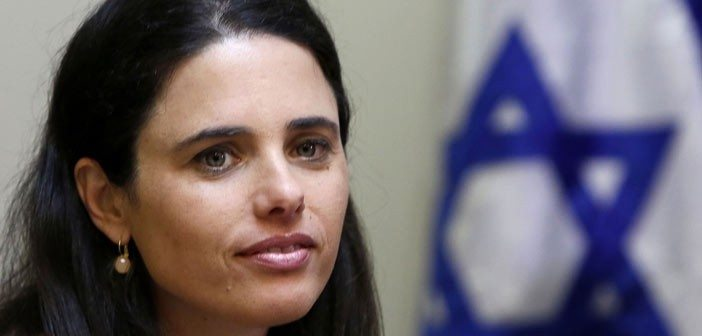 İsrail Adalet Bakanı Ayelet Şaked türkiye iran arasına kürdistan devleti kurulsun