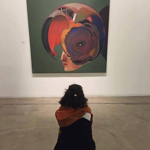 Resim Sergisi: Dünya Mavidir, Tıpkı Bir Portakal Gibi mohammed zaza depo