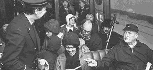 norveç kralı olav tramvayda