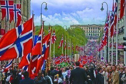 norveç bayrağı bayrak kullanımı politika devlet parlamenter sistem kraliyet monarşi