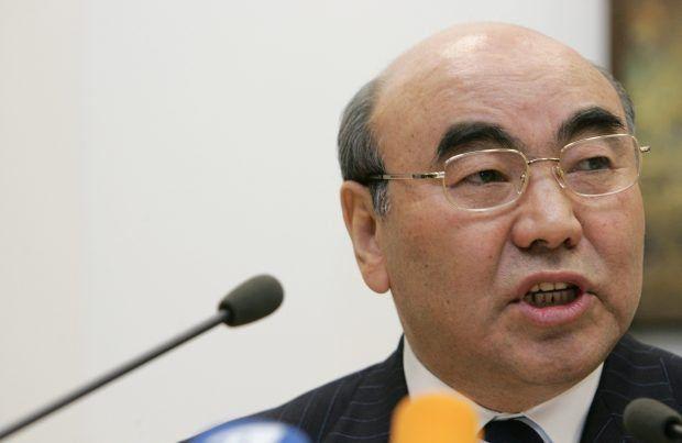 Kırgızistan'ın devrik Cumhurbaşkanı Aksar Akayev (REUTERS / Denis Sinyakov)