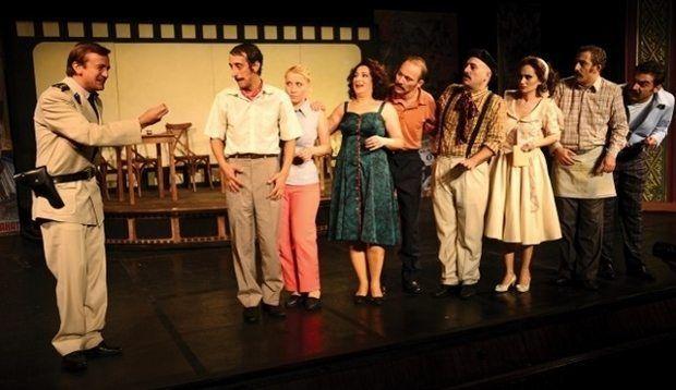 """Ankara Devlet Tiyatrolarında bir""""Yeşilçam"""" oyunu"""