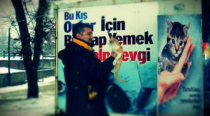 """Hayvan Hakları Federasyonu (HAYTAP) Başkanı Ahmet Kemal Şenpolat:""""Hayvanlara huzur vermeyen bir toplumun kendisi de huzur bulamaz!"""""""