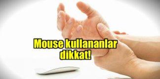 Karpal tünel nedir? Mouse parmağın dokusunu nasıl bozar?
