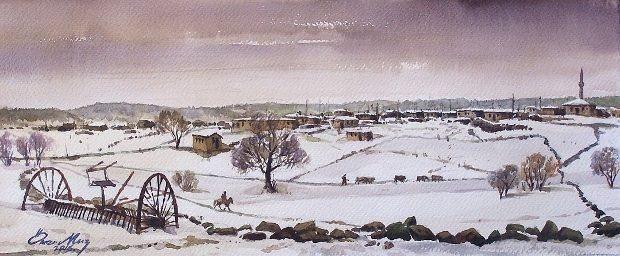 kars köyleri Ömer Muz Bir Yanım Anadolu sergisi derinlikler sanat galerisi