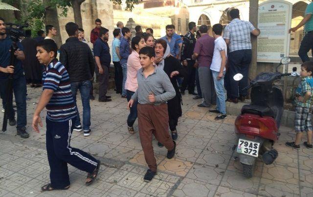 kilis halkı tepkili okullar boş