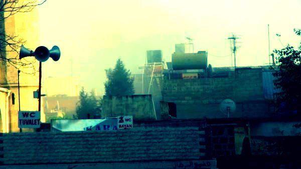 kilis tekke camii hasar gördü ışid roket