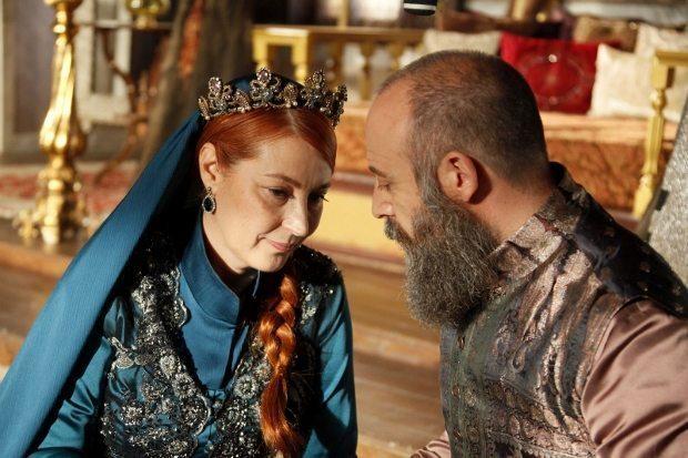vahide gördüm vahide perçin muhteşem yüzyıl hürrem sultan halit ergenç göç zamanı