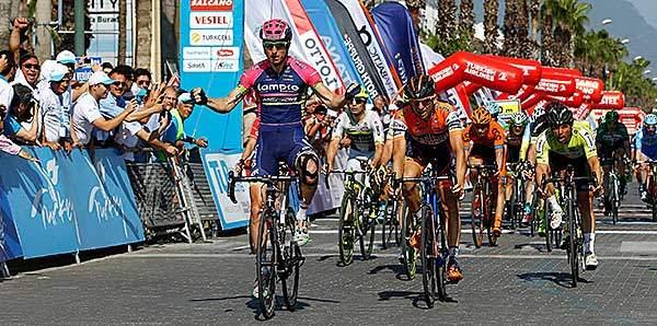 52. Cumhurbaşkanlığı Bisiklet Turu Fethiye - Marmaris etabı