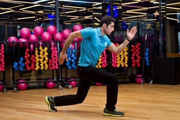 Jumping Lunge