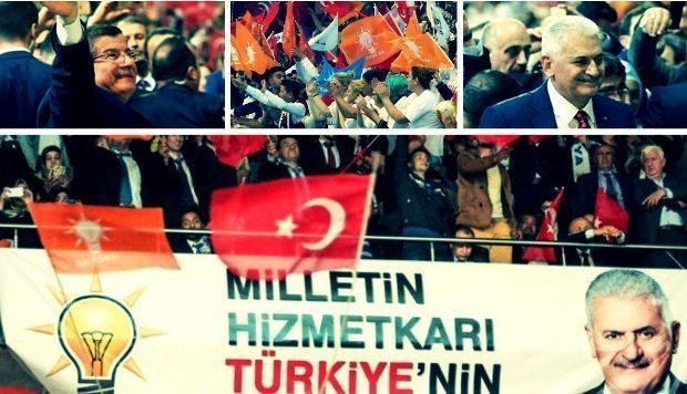 Türkiye'yi 14 yıldır yöneten AK Parti, Erdoğan ve Davutoğlu'nun ardından 3. genel başkanını bugün seçecek. Binali Yıldırım tek aday.