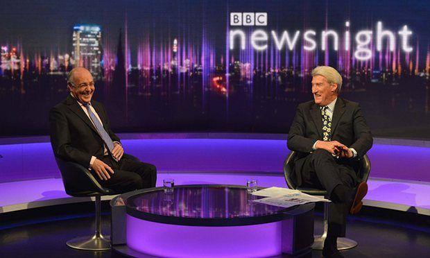 BBC'de Newsnight programı ve Jeremy Paxman