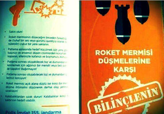 AFAD'dan skandal broşür: Roketten nasıl korunmalı?