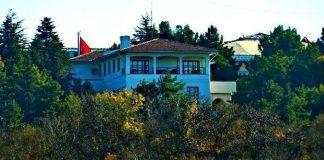 Atatürk'ün çiftlik evi olarak kullandığı, Cumhuriyet'in simge mekanlarından Atatürk Orman Çiftliği'ndeki Marmara Köşkü yıkıldı.
