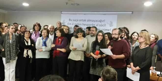 barış için akademisyenler bildirisi
