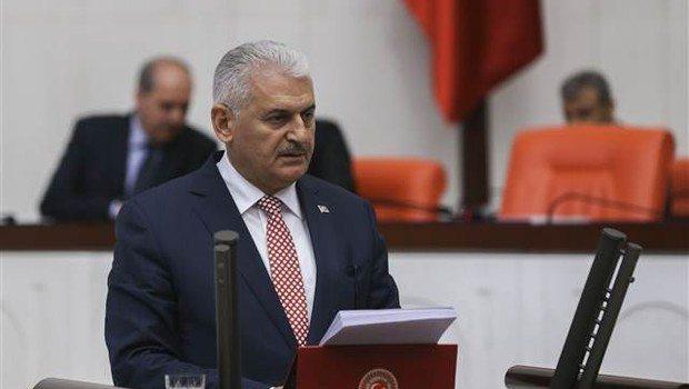 Başbakan binali Yıldırım, kötü haberi meclis kürsüsünde öğrendi