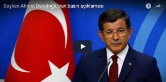başbakan davutoğlu istifa veda konuşması video