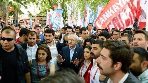kemal kılıçdaroğlu CHP Anıtkabir'e yürüdü