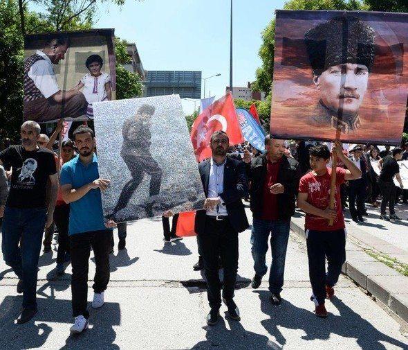 chp anıtkabir yürüyüşü 19 mayıs 2016