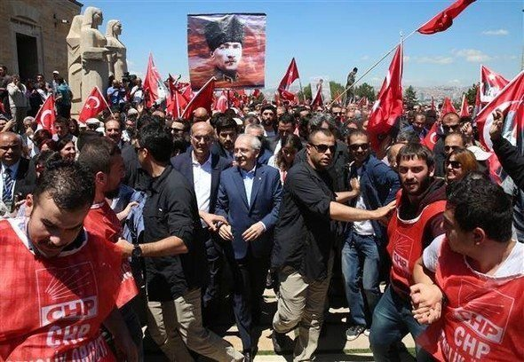 chp anıtkabir yürüyüşü 19 mayıs 2016 kılıçdaroğlu