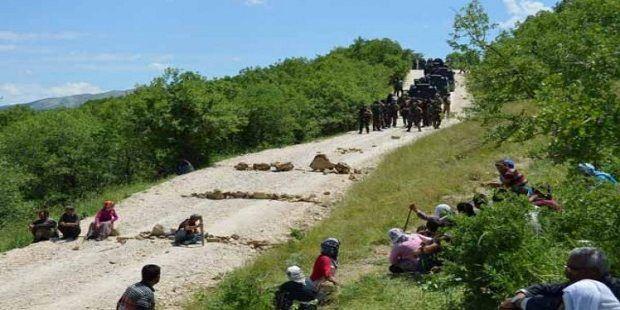 Diyarbakır köylüleri ile PKK'lılar arasında yaşanan çatışma