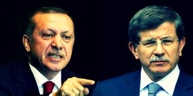 Erdoğan'dan Davutoğlu için sert sözler