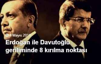 erdoğan davutoğlu geriliminin perde arkası kırılma noktaları