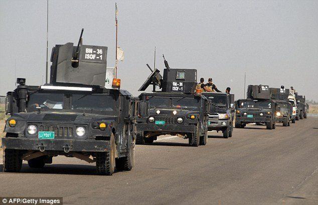 felluce ırak ordusu ışid siviller