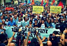 Gezi Parkı olaylarının 3. yıl dönümü mitingi Taksim'de