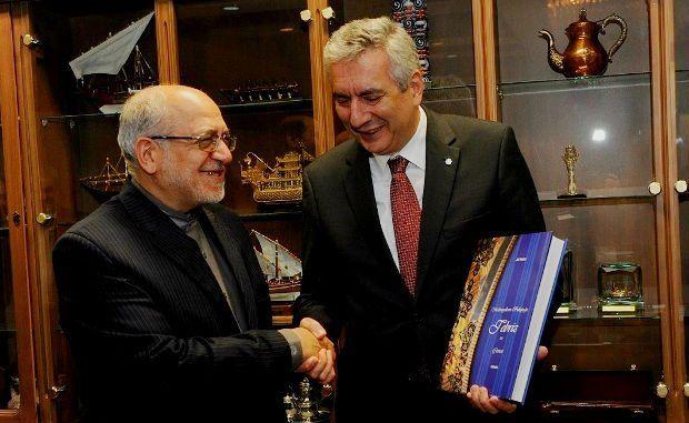 İSO Başkanı Erdal Bahçıvan, Tahran'da temaslarda bulundu ambargo