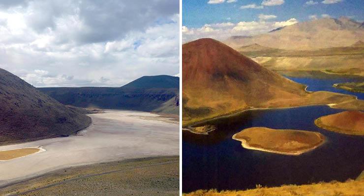Konya'da dev göl kurudu! Meke Gölü yok olmak üzere!