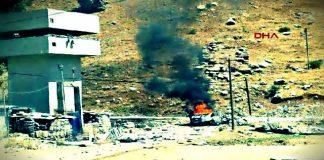 Mardin Anıtlı Karakoluna saldırı