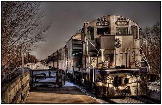Tren: Kimse yok, herkes gitti