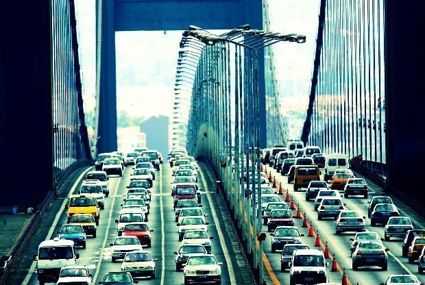 boğaziçi köprüsü yönü Yandex, İstanbul trafiğinde kilit noktaları belirledi