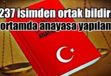 yeni anayasa