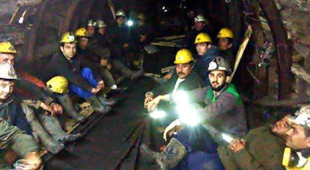 Zonguldak'ta maden direnişi açlık grevi eylemi sona erdi