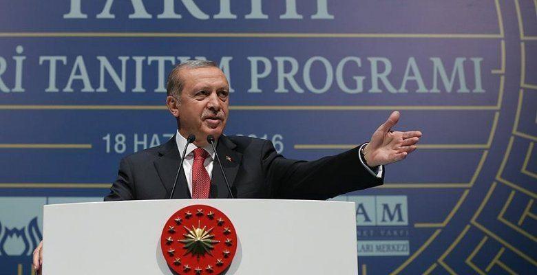 Erdoğan Gezi Parkı'na o tarihi eseri inşa edeceğiz