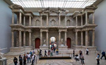 Bergama Müzesindeki Milet Güney Agora Kapısı