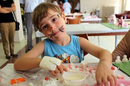 """Çocuklar için""""Deprem Bilinci Arttırma Programı"""""""