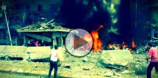 mardin midyat emniyet müdürlüğü patlama çatışma video