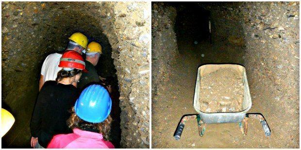 ravne tünelleri gönüllü ekip