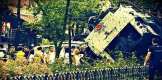 İstanbul'un orta yerinde Vezneciler'de patlayan bomba yüklü araç...