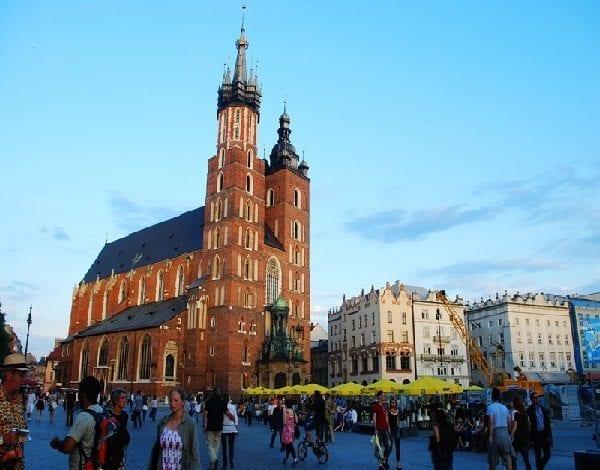 St. Mary Kilisesi (St. Mary's Basilica), Krakow