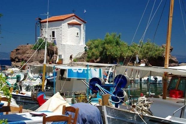 Lesvos (Midilli Adası) - Sikalaminia Köyü